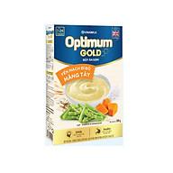 BỘT ĂN DẶM OTIMUM GOLD YẾN MẠCH BÍ ĐỎ MĂNG TÂY - HỘP GIẤY 200G thumbnail