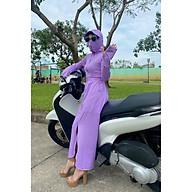 Váy Chống Nắng Nữ Toàn Thân, Áo Khoác Che Nắng Che Bụi mẫu NT115 thumbnail