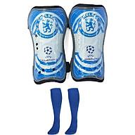 Combo Bó ống đồng đá bóng trẻ em các câu lạc bộ + Tất đá bóng dài trẻ em - Giao màu ngẫu nhiên (Free size) thumbnail