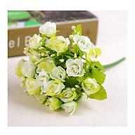 Nhánh hoa giả, hoa hồng baby nở thumbnail