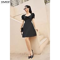Đầm Váy Nữ Công Sở 92WEAR Thiết Kế Xòe Rút Nhún Ngực DEW0990 thumbnail