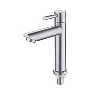 Vòi Lavabo Lạnh inox SUS 304_Vòi Chậu Lavabo_ vòi lavabo inox cao cấp dùng cho chậu rửa mặt thumbnail