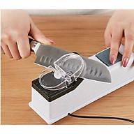 Máy mài dao điện tự động 21.5x6.5x6.5cm hàng cao cấp -giao màu ngẫu nhiên thumbnail