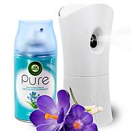 Bộ phun tinh dầu tự động Air Wick Spring Delight 250ml QT00250 - hoa nghệ tây thumbnail