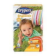 Tã Quần Cho Bé Drypantz Drypers Cực đại XL42 (42 Miếng) thumbnail
