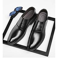 Giày da giày da nam cao cấp giày da nam đẹp giày nam cao cấp sang trọng giày tây nam không dây giày da nam công sở giày lười mã 36633 thumbnail