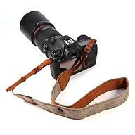 Dây đeo chống mỏi canvas cho máy ảnh - Q00311 thumbnail