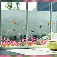 Decal dán tường trang trí chân tường- Hoa hồng dây- mã sp DAY756 thumbnail