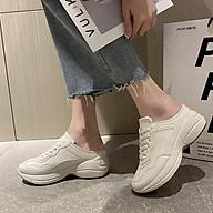 Giày SỤC BASIC Tăng Chiều Cao Nữ Thời Trang - A206 thumbnail
