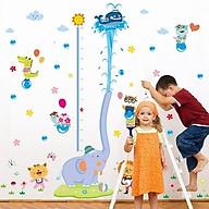 Decal dán tường cho bé hình voi phun nước đáng yêu thumbnail