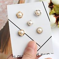 Set 5 Khuy cài áo hoạt tiết xinh xắn thumbnail