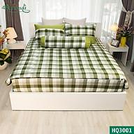 Vỏ gối ôm Amanda Azura HQ3001 -100% cotton-xanh cớm kẻ sọc thumbnail