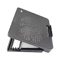 Đế Tản Nhiệt Laptop 2 Fan Có Led - Quạt Tản Nhiệt Laptop Thay Đổi Độ Dốc (Màu Đen) thumbnail