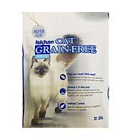 Thức Ăn Ngăn Ngừa Dị Ứng Và Chăm Sóc Da Lông Cho Mèo Iskhan Cat Grain Free Adult 300gr thumbnail