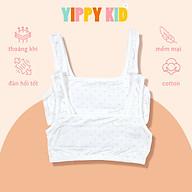 Áo lót cổ vuông chấm bi cho bé gái - AO10 thumbnail