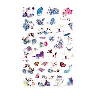 Bộ 6 Tấm Sticker Giấy Mèo Nhật Bản thumbnail