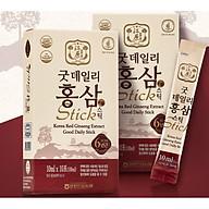 Chiết xuất Hồng sâm Hàn Quốc Exrtact Good Daily Stick - Hộp 30 gói x 10ml gói thumbnail