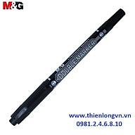Bút dạ kính 2 đầu M&G - APM21372 mực đen thumbnail