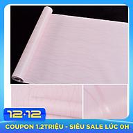 Combo 10m giấy dán tường nền hồng sọc thumbnail