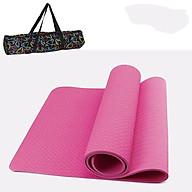 Thảm Tập Yoga TPE Cao Cấp Tặng Kèm Túi Đựng TM1 thumbnail