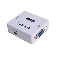 Box chuyển VGA ra HDMI HD MINI- Hàng nhập khẩu thumbnail