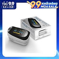 Máy Đo Nồng Độ Oxy Trong Máu SpO2, Đo Nhịp Tim, Huyết Áp Pulse Fingertip Oxymeter A2 - Thiết kế dạng kẹp ngón tay tiện dụng - Màn hình hiển thị OLED - Hàng Chính Hãng thumbnail