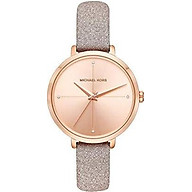 Michael Kors Women s Charley Rose Gold Leather Watch MK2794 thumbnail