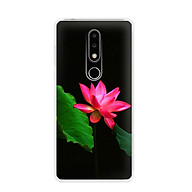Ốp lưng điện thoại Nokia 6.1 plus X6 - 01171 7819 LOTUS06 - Silicon dẻo - Hàng Chính Hãng thumbnail