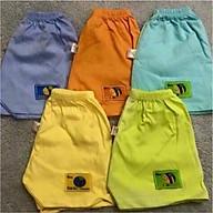 Combo set 10 quần đùi cotton cho bé trai và bé gái (giao màu ngẫu nhiên) thumbnail