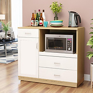 Kệ tủ bếp KB10-1 để lò nướng để lò vi sóng đồ nhà bếp nồi cơm điện loại tốt mã gỗ MDF lõi xanh chống ẩm chống nước cao cấp sản xuất tại Việt Nam thumbnail
