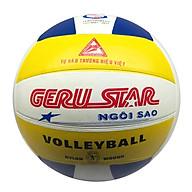 Bóng chuyền cao su 3 màu Geru V5 Geru Star (Tặng Băng dán thể thao + Kim bơm + Lưới đựng) thumbnail