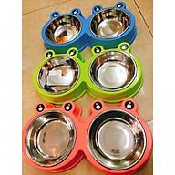 Bát Đôi Thức Ăn Nước Uống Cho Chó Mèo thumbnail