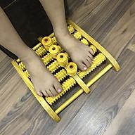 Bàn lăn chân 4 trục bi đứng massage chân bằng gỗ cỡ lớn (MH865) giúp lưu thông máu - Chăm sóc sức khỏe thumbnail