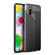 Ốp lưng silicon dẻo giả da Auto Focus cao cấp dành cho Samsung Galaxy A21s - Hàng chính hãng thumbnail