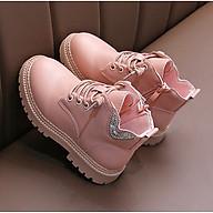 Giày bốt cho bé gái Phong Cách Hàn Quốc TL35 thumbnail