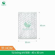 B3B - 40x30 cm - 50 Túi bong bóng khí - túi màng xốp hơi - gói hàng đóng hàng thumbnail