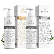 Bộ tắm trắng toàn thân cấp tốc Truesky Premium chính hãng giúp làm trắng nhanh gồm 1 chai ủ trắng 200ml & 1 chai dưỡng trắng 200ml thumbnail