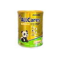 Sữa bột ALLCares IQ PLUS+ 2 lon 400g - Giúp phát triển não bộ, tiêu hoá khoẻ mạnh của NutiFood thumbnail