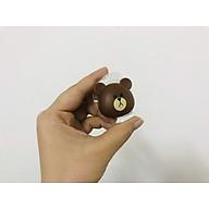 Đầu Gấu quấn tai nghe siêu ngộ nghĩnh - tiện dụng thumbnail