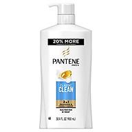 Dầu Gội & Xả Pantene Pro-V Clacssic Clean 2in1 900ml - USA thumbnail