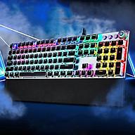 Bàn phím cơ cao cấp F2088 full led nền, bàn phím máy tính có 20 chế độ nháy khác nhau, bàn phím cơ dưới 1 triệu, bàn phím cơ led, bàn phím chơi game- Hàng nhập khẩu thumbnail