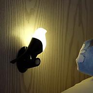 Đèn ngủ tích điện cảm ứng thông minh mô hình chim cao cấp - Hàng nhập khẩu thumbnail