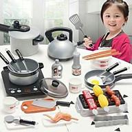 Bộ đồ chơi nấu ăn 36 món kèm thức ăn thumbnail