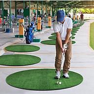 Thảm tập swing Golf ECO-360( D150cm) 2 lựa chọn mặt cỏ, Cao cấp, Kích thước lớn, Thiết kế mới. thumbnail