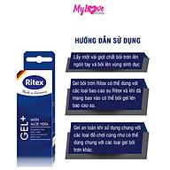 Gel Bôi Trơn Ritex Gel + Tinh Chất Lô Hội Giúp Cuộc Yêu Trơn Mượt, Tuýp 50ml Đức mylovestore thumbnail
