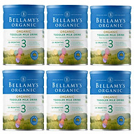 6 Lon Sữa Bột Bellamy s Organic Số 3 (900g) thumbnail