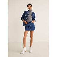 Váy ngắn nữ phối túi hai bên cá tính Mango Musthave - 43063701 thumbnail