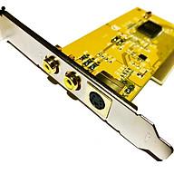 Card Chuyển Đổi PCI To SVHS AV S-Video thumbnail