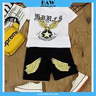 Set Đồ Bé Trai phong cách hàn quốc, chất thun cotton mát mịn thấm hút mồ hôi, thời trang trẻ em thương hiệu BAW mã 145-146-147-148 thumbnail