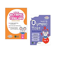 Combo 2 Cuốn Luyện Thi Olympic Toán - Anh Lớp 4 thumbnail